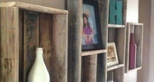 → Pallet shelving. Pallet Wall Shelves Ideas.. Wanting to know how to implemen...