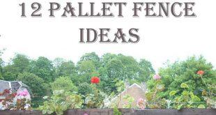 12 Ingenious Pallet Fence Ideas