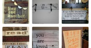 22 pretty pallet sign ideas Idea Box by Kathleen Bell
