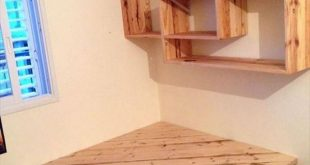 30 Best And Easy DIY Wooden Pallet Corner Shelf Designs for You Home