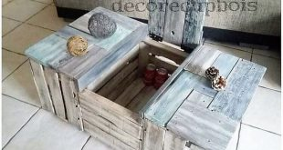 Amazing Wood Pallet Ideas That You Can Easy to Make