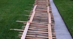 DIY Pallet Wood Fence Tutorial