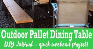 If you love pallet furniture, then you'll want to check out my DIY Pallet Ou...