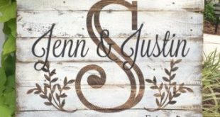 Last name with est. date rustic, wooden sign