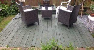 Pallet Deck/Lounge Area