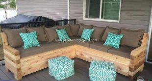 Pallet Patio Sectional Sofa Plans