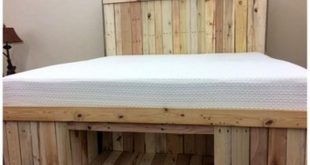 Very Beautiful Diy Pallets Bed Ideas