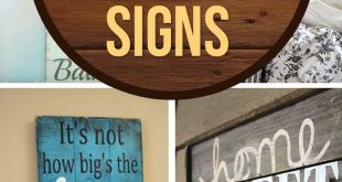 Wood Sign Ideas ...