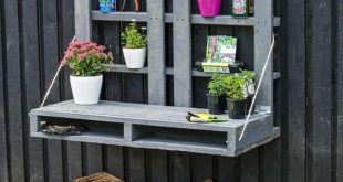 15 Outdoor Pallet Projects