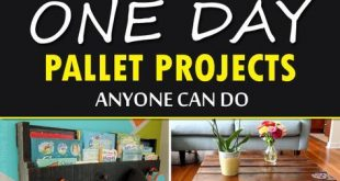20 One Day Pallet Projects Anyone Can Do
