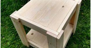 Attraktive Holzpaletten-Tischprojekte