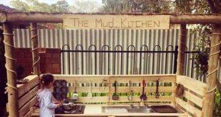 DIY Outdoor Pallet Mud Kitchen ... das sind die BESTEN Palettenideen! #besten #...