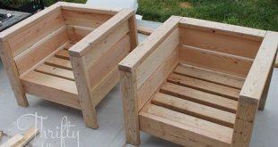 DIY Veranda oder Gartenmöbel. Lernen Sie, wie Sie diese Stühle für ca