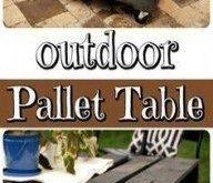 Diy garden table pallet decks 21+ ideas for 2019