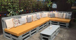 Fantastische Paletten-Gartenmöbel #fantastische #gartenmobel #paletten #garten...