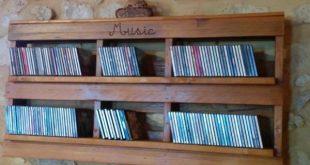 Pallet Cd Shelf