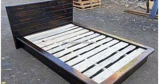 Quite wonderfully designed pallet bed frame design is all right here for you to ...