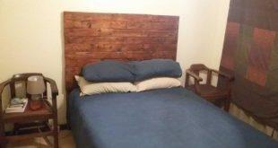 4 Pallets Bed Headboard