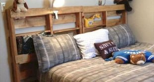 50 Creative Recycled DIY Projects Pallet Beds Design Ideas (23