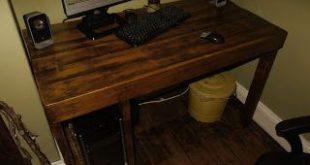 Como hacer un escritorio con palets