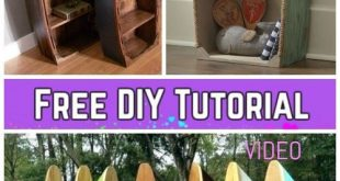 DIY Pallet Wood Boat Bookshelf Tutorial – Video #WoodWorking