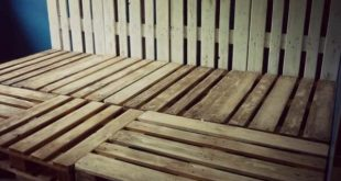 Family Pallet Bed Made Of Recycled Euro Pallets