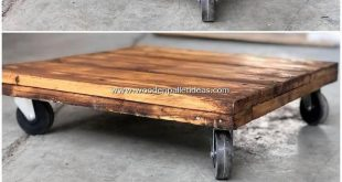 For some inexpensive wood pallet table ideas you can ideally make the desire of ...