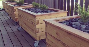 Kreative hausgemachte Pflanzkästen aus Paletten – Einfaches DIY-Projekt › 25 +