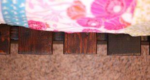Pallet Tutorials: DIY Twin Pallet Bed Instructions