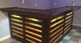 The Kona ~ Pallet Bar / Tiki Bar August Super Sale ~ The Most Incredible True Indoor & Outdoor Pallet Bar