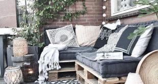35+ Fantastische Palettenholz-Terrassenmöbel-Ideen - Elif