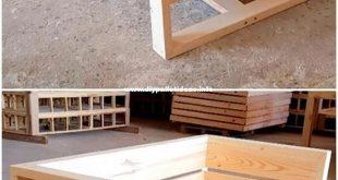 50 Neueste Recycling-Palettenholzmöbelprojekte - #Neueste #RecyclingPalettenhol...