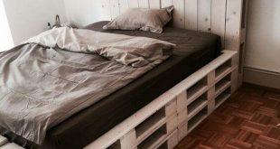 50 Pallet Betten Design für Ihre Heimwerker #betten #design #heimwerker #palle...