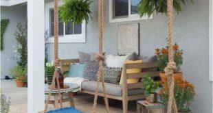 ✔50 stunning small patio garden decorating ideas 30
