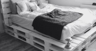 51 DIY Pallet For Bed Place For Your Idea #diypallet