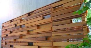 60 Gorgeous DIY Projects Pallet Fence Design Ideas (39