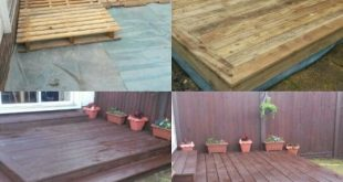 Before & After with pallets