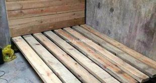 Billig und einfach Projekte mit alten Holzpaletten zu machen - #alten #Billig #e...