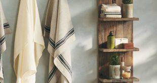 DIY Badezimmerregale, um Ihren Stauraum zu verbessern #Badezimmer ... #badezimme...