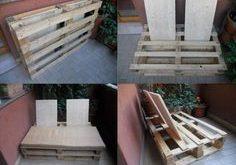 DIY Outdoor Pallet Sofa Instructions