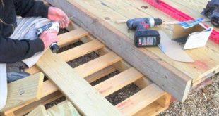 DIY Paletten Deck : Home Exterior Verbesserungen