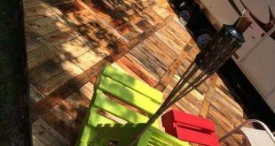 DIY Paletten Deck Ideen und Anleitungen