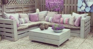 DIY Pallet couch and table ähnliche tolle Projekte und Ideen wie im Bild vorges...