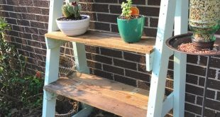 DIY Shelves for my plants! Made only from a pallet! Garden idea DIY Plant shelve...
