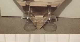 Die schönsten Versandpaletten Wine Rack Ideas # Ideas #palletsprojectsdecor #schons … #WoodWorking