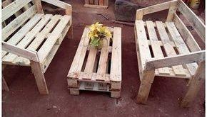 Einfachste DIY-Projekte mit alten Holzpaletten #alten #einfachste #holzpaletten