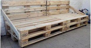 Erfreuliche Ideen für das Recycling von Holzpaletten - #Ideen #Paletten #Ermuti...
