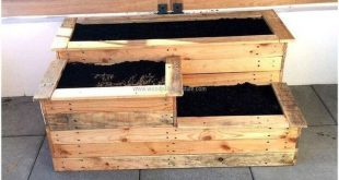 Erstaunlich kreative Holzpalette Gartenprojekt 42 # Erstaunlich #garten # https://mireia.yaz...