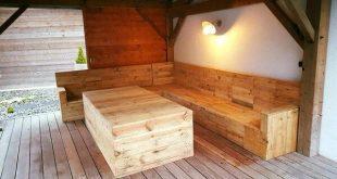 Genial Holz Paletten Deck Ideen