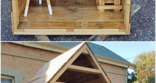 Kreative DIY Holzpaletten, die Ideen wiederverwenden #Holzpaletten #Ideen #creat...